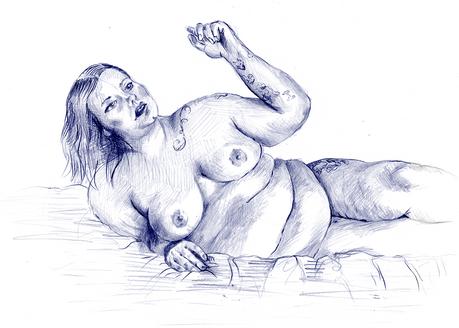#4 Blue Nude