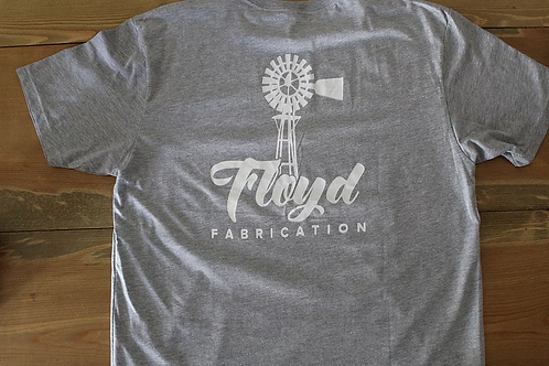 "Floyd Fabrication T-Shirt ""Grey"""