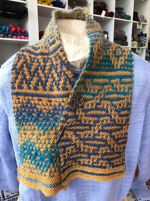 Mosaic Sampler Scarf Kit