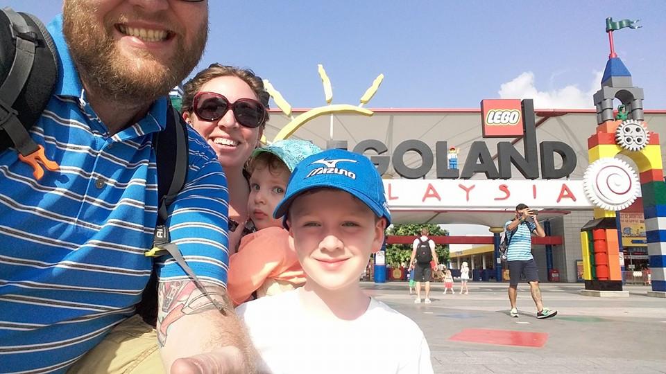 Legoland Selfie Fail