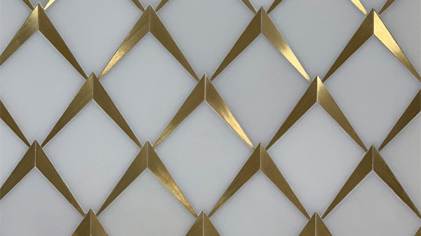 Marble and Brass Mosaics