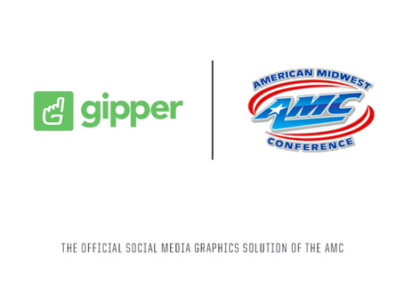Gipper Signs Partnership to Become the Official Social Media Graphics Solution of the AMC