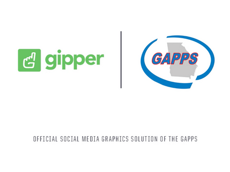 Gipper Signs Partnership to Become the Official Social Media Graphics Solution of the GAPPS