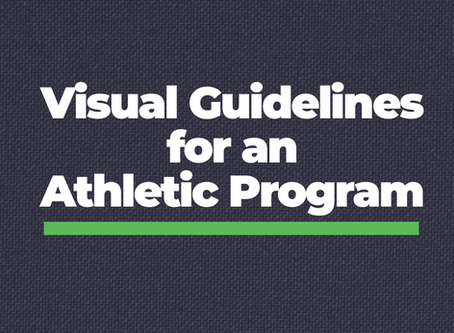Creating Visual Guidelines for an Athletic Program
