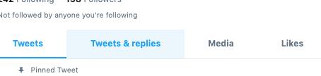 Tip: Avoiding hidden replies on twitter