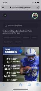 sports graphics graphic design
