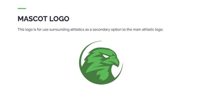 high school athletics, brand, logos, social media graphics