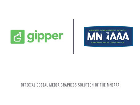 Gipper Signs Partnership to Become the Official Social Media Graphics Solution of the MNIAAA