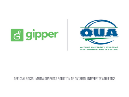Gipper Signs Partnership to Become the Official Social Media Graphics Solution of the OUA