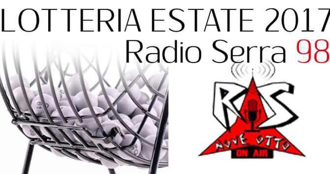 Lotteria Estate 2017 di Radio Serra 98 -Numeri Vincenti -