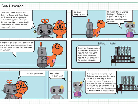 Cute robots designs for Tinker the Robot