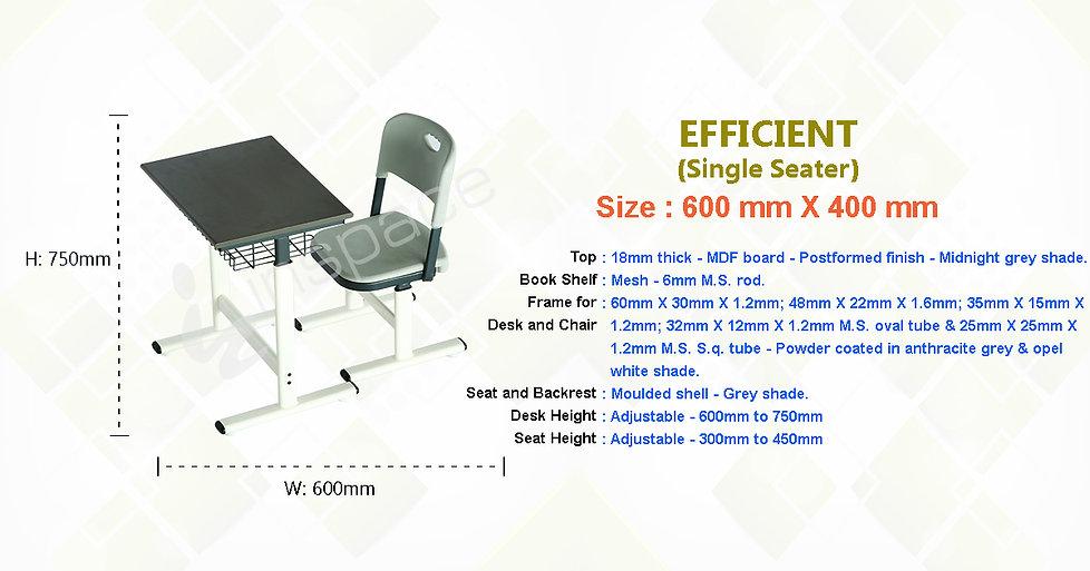 Student Desk | Single Seater