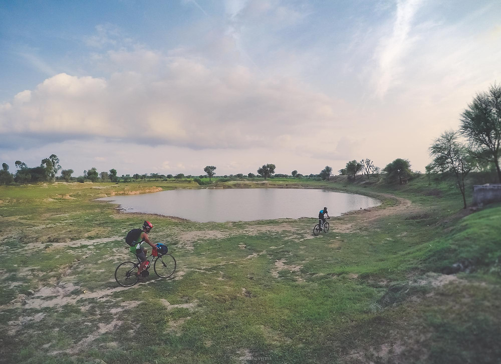 Bikepacking in India, Jaipur Rajasthan