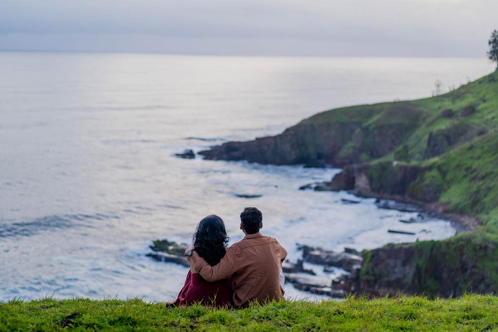 Couple shoot at sinquerim
