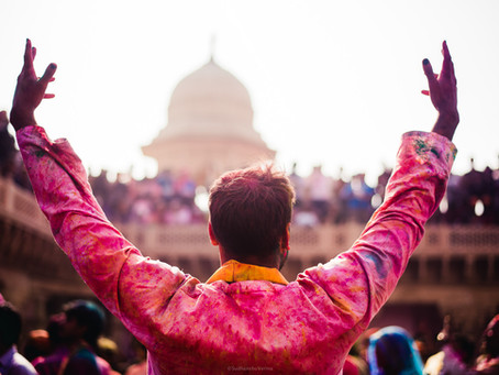 Trance of Lathmaar Holi in Mathura