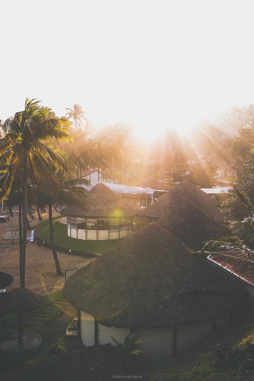 Sunrise at Kovlam beach
