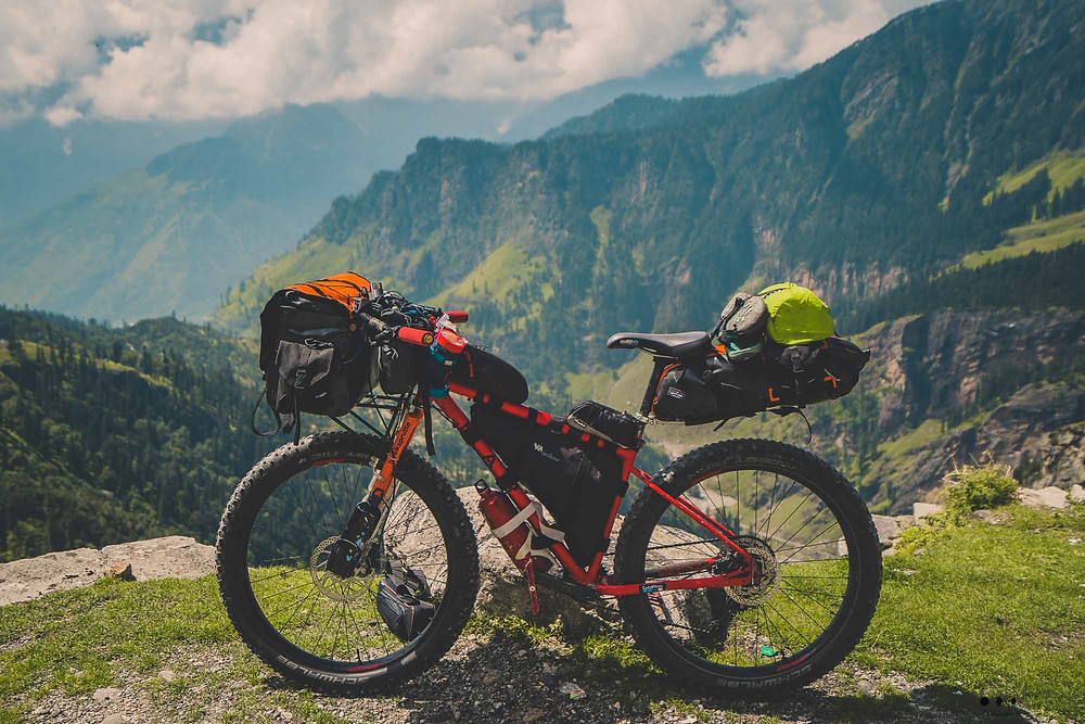 manali to Leh Bikepacking