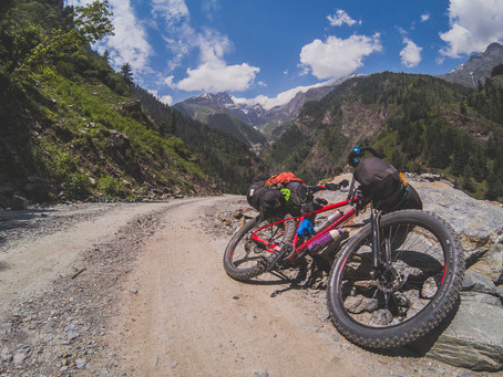 Cycling the Pangi valley