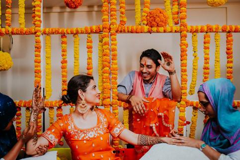 bride and groom mehendi ideas