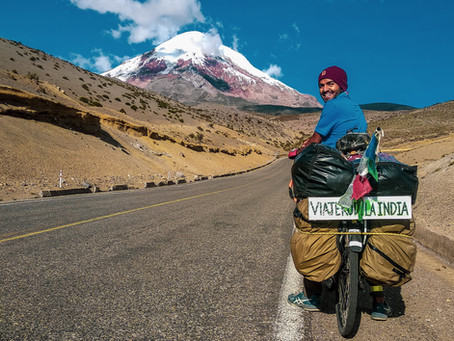 #strangersnomore: Excerpts from Rajat's Bike Tour across Latin America