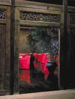 30View through Indonesian doors into Eas