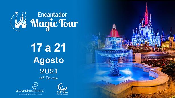 Encantador MAGIC TOUR - Material Agosto