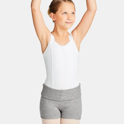 Capezio Foldover Knit Shorts