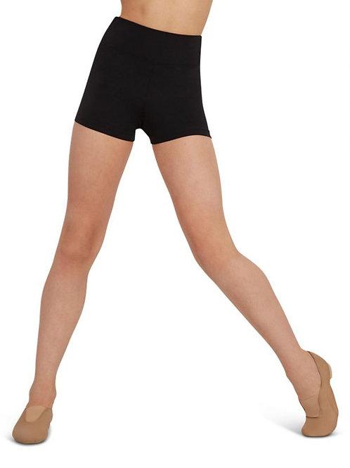 Capezio High-Waisted Shorts
