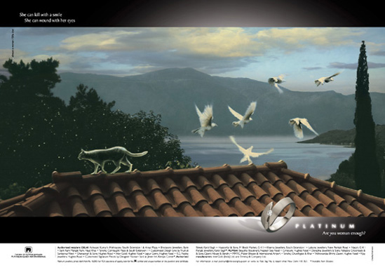 Platinum Metal Launch Ad.
