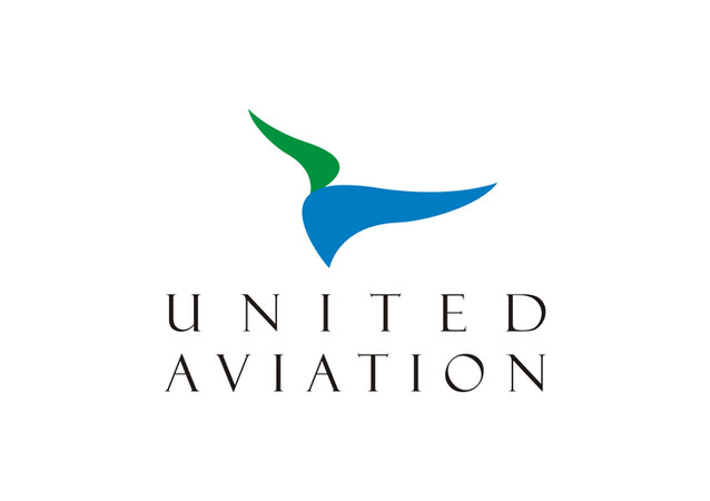 United Aviation Logo Design.
