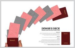 Dewar's Playing Cards