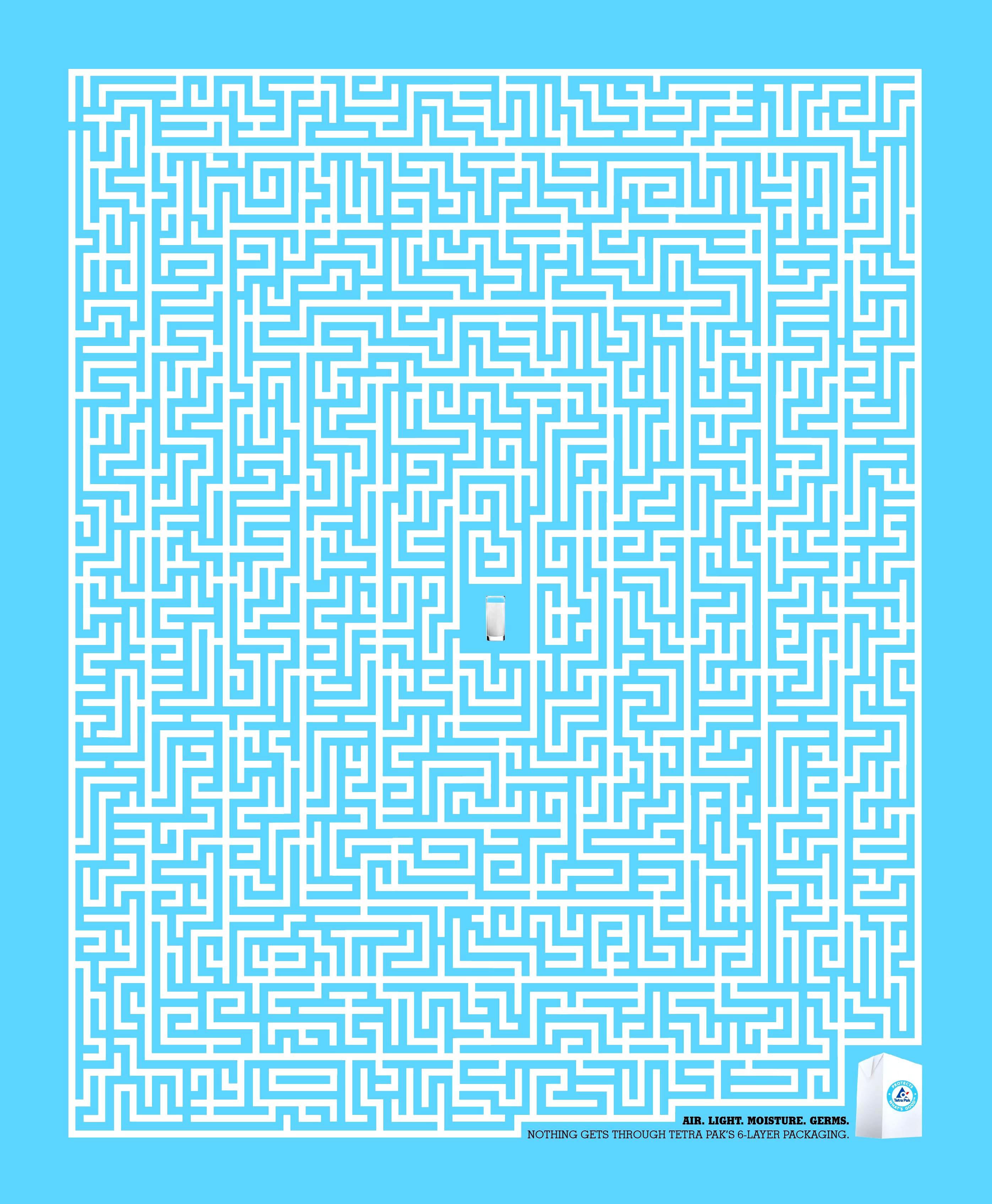 TetraPak Maze