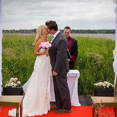 Danish garden wedding
