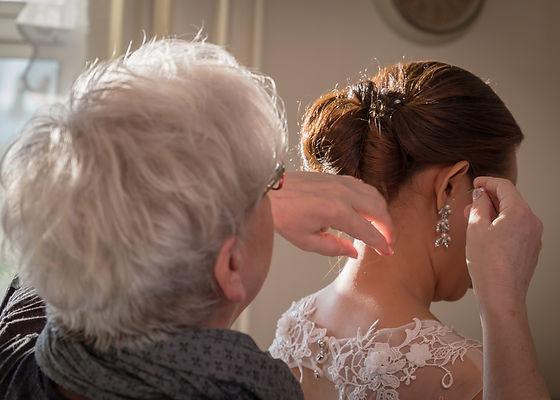 Hairdressing for wedding in Denmark