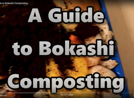 Great YouTube Video on Bokashi Composting