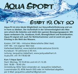 Aquafit Winter in Balsthal