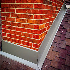 Chimney Repair - Metal Chimney Flashing Orangeville and Colingwood, Owen Sound Roofing