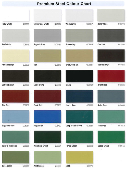 Eavestrough Colour choices. Over 36 different colours to choose from. White , Black , Brown , Seamless Eavestough with Leaf Guard option. Eavstrough and Soffit Colours, Aluminum Eavestrough Orangevilleand Collingwood