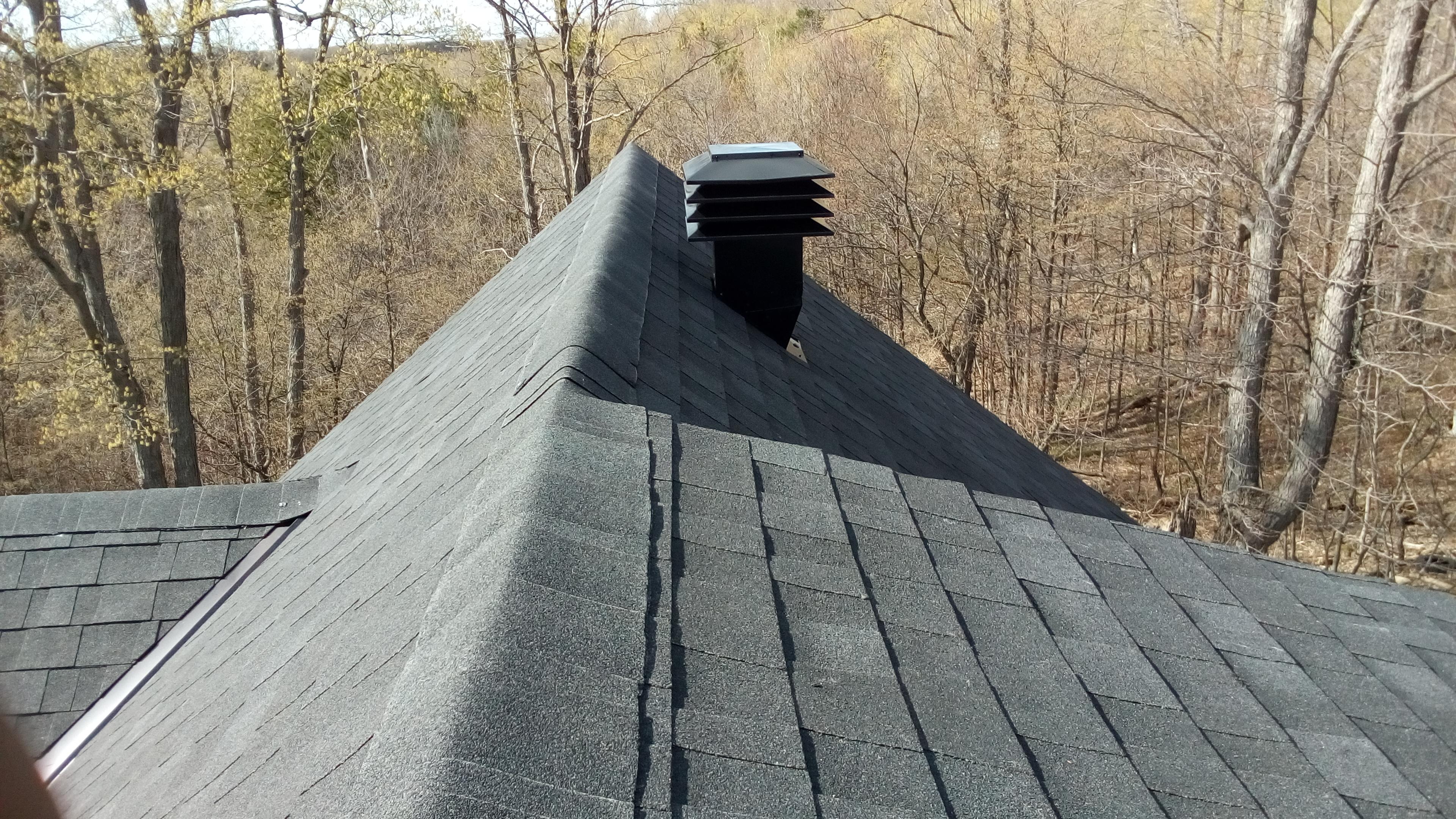 Maximum Roof Vent Upgrade- Maxwell Ontario