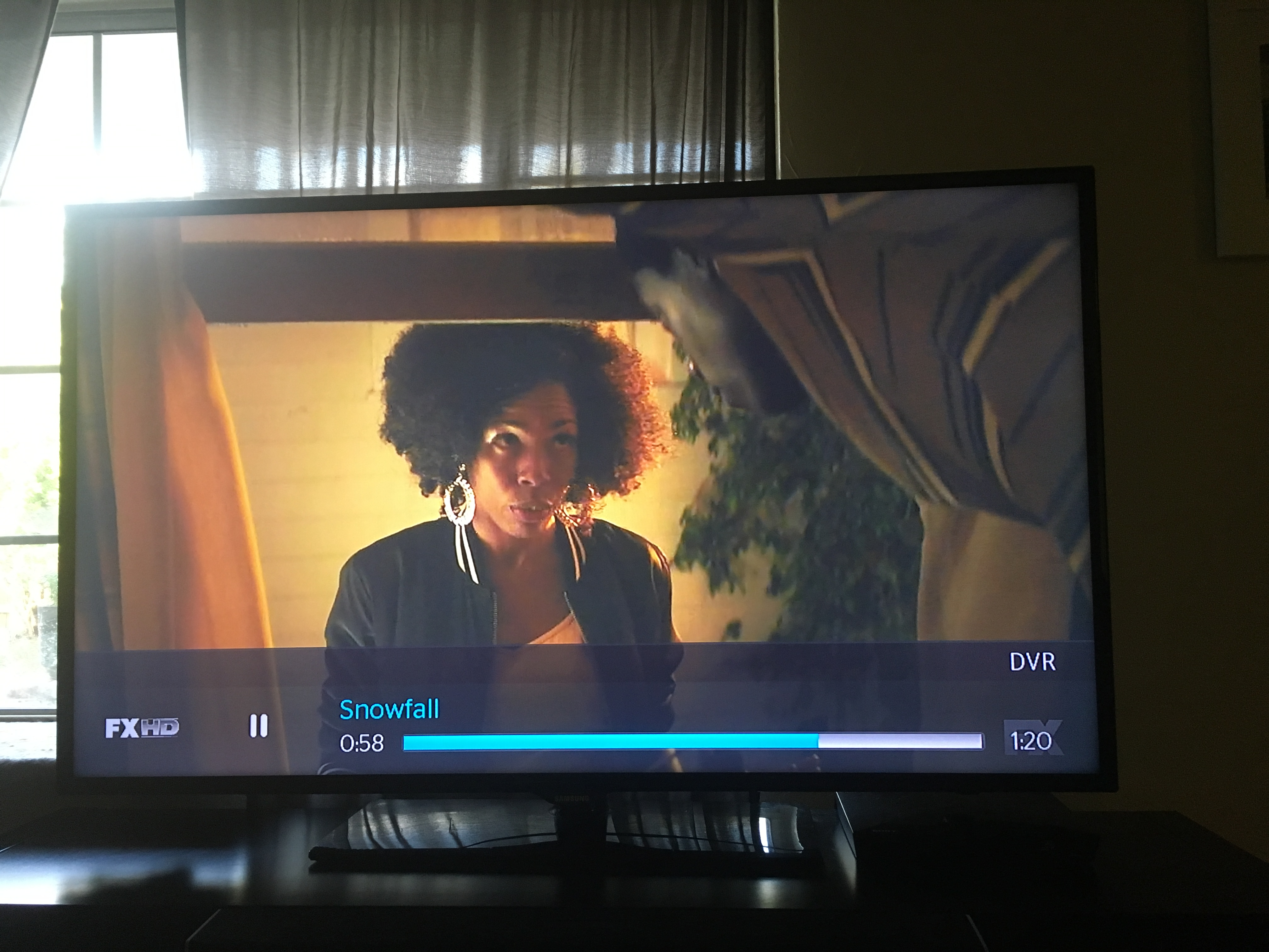 Angela Lewis as Aunt Louie in Ep 101