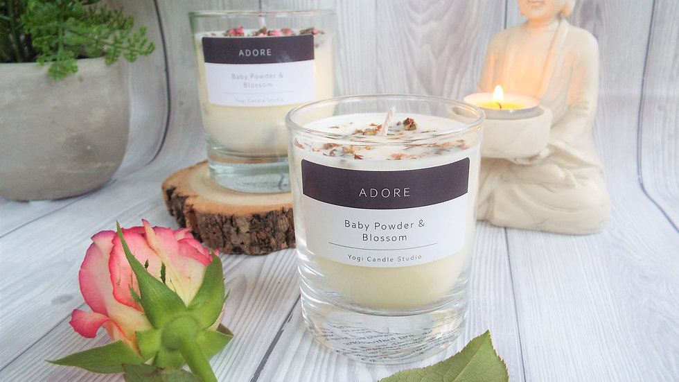 Adore - Baby Powder & Blossom Soy Candle
