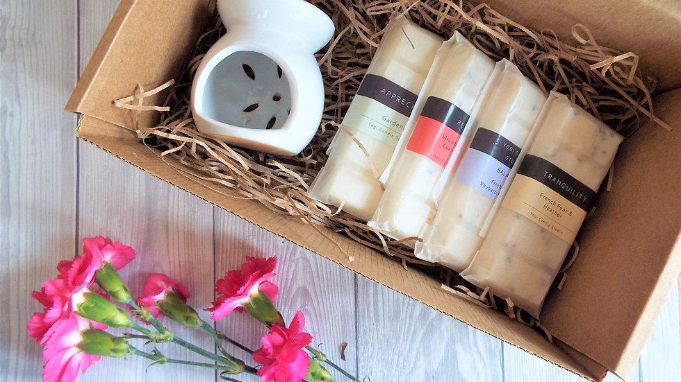 Wax Melt & Burner Gift Box