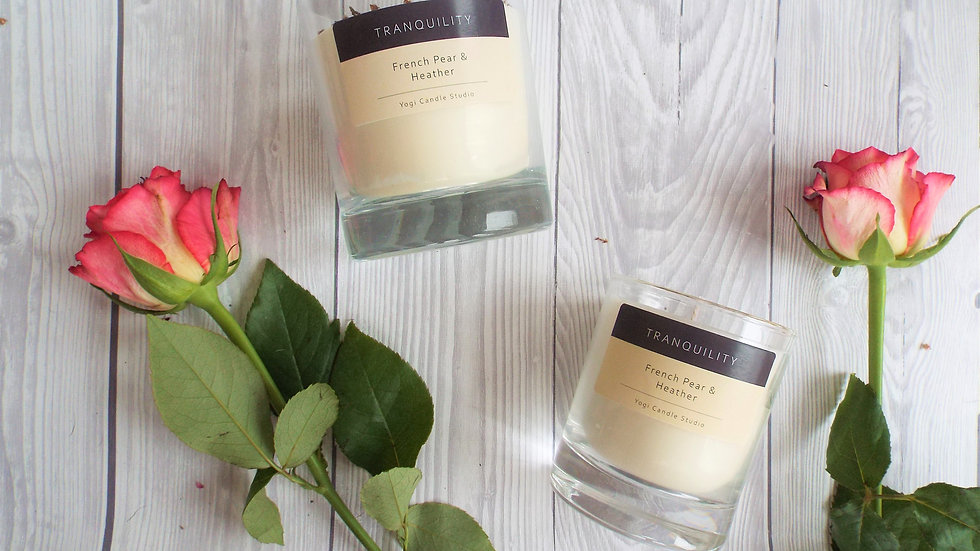 Tranquillity - French Pear Soy Candle