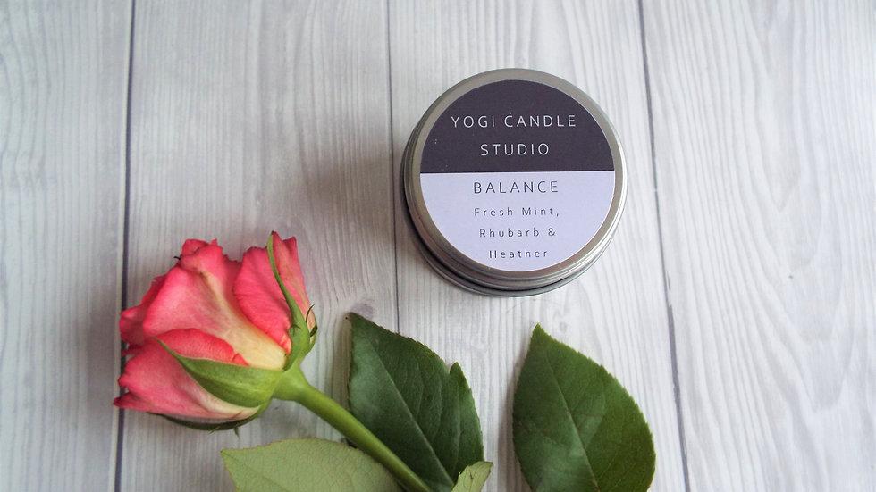 Balance - Fresh Mint & Rhubarb Soy Candle Tin