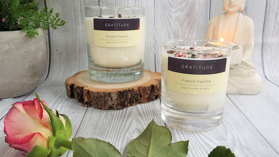 Gratitude - French Vanilla Soy Candle