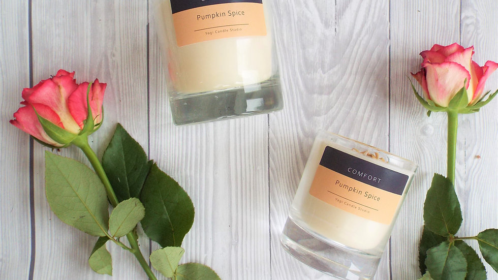 Comfort - Pumpkin Spice & Orange Soy Candle