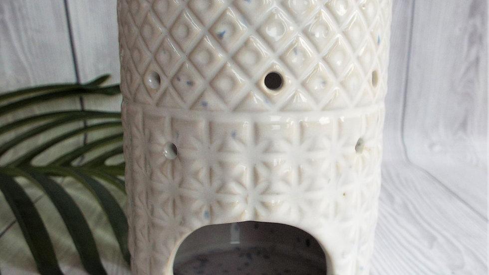 Wax Melt Stoneware Ceramic Burner Design 1
