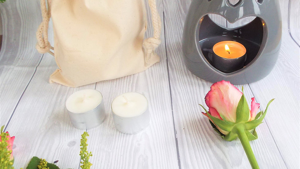 Bag of Unscented Soy Tealights