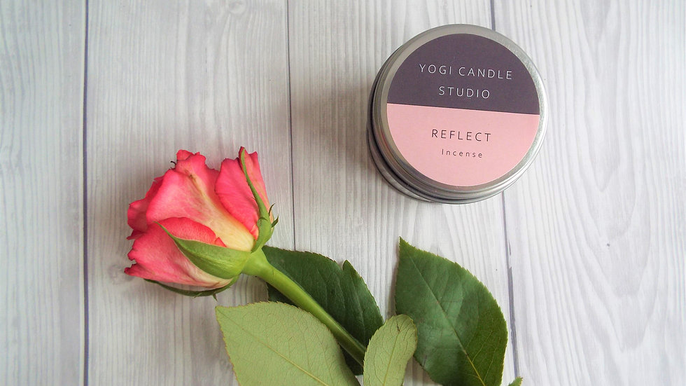 Reflect - Incense Soy Candle Tin