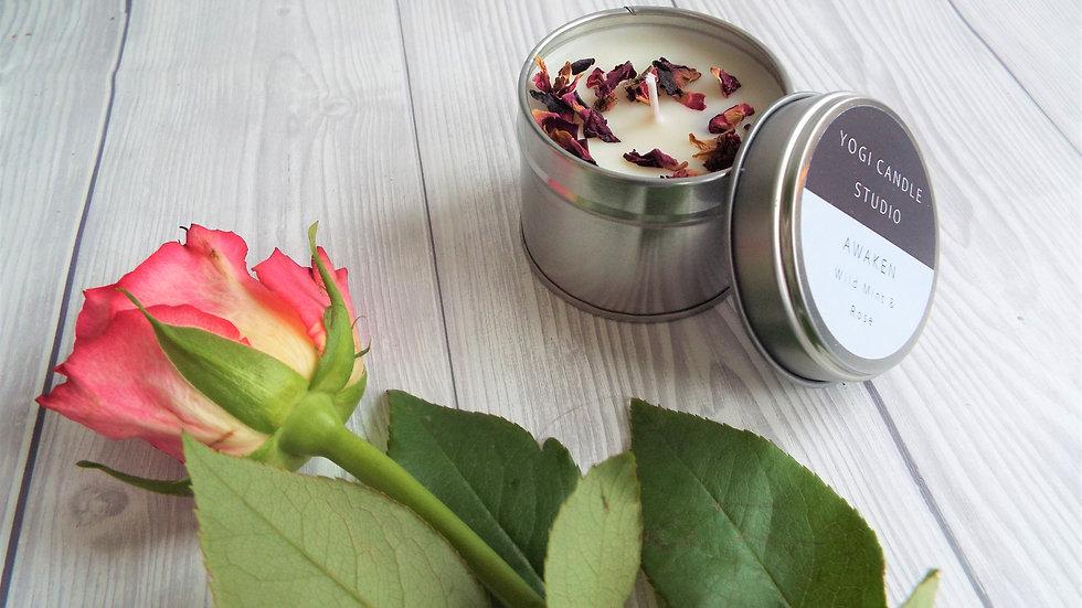 Awaken - Wild Mint Soy Candle Tin